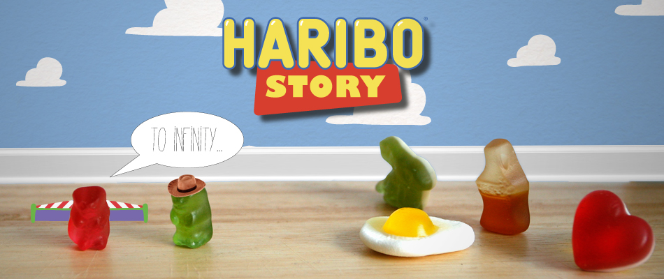 We created a bag full of sweet campaigns for Haribo
