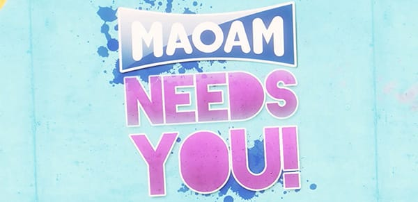 We wrapped up a sweet app for Maoam