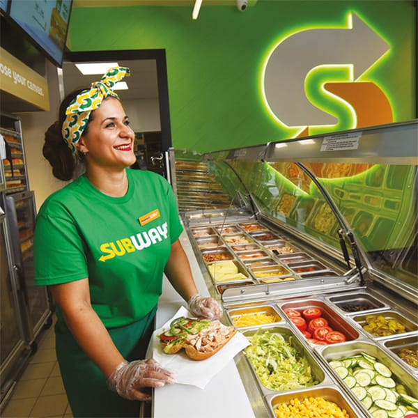 We delivered the right ingredients for Subway®
