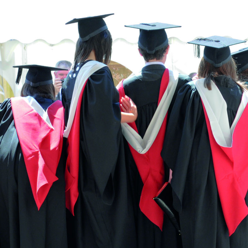 We received a first with honours attracting students to Cardiff University
