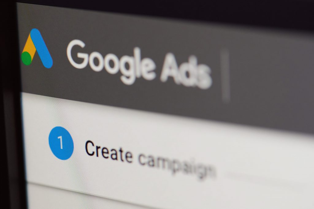 Google ads search campaign creation