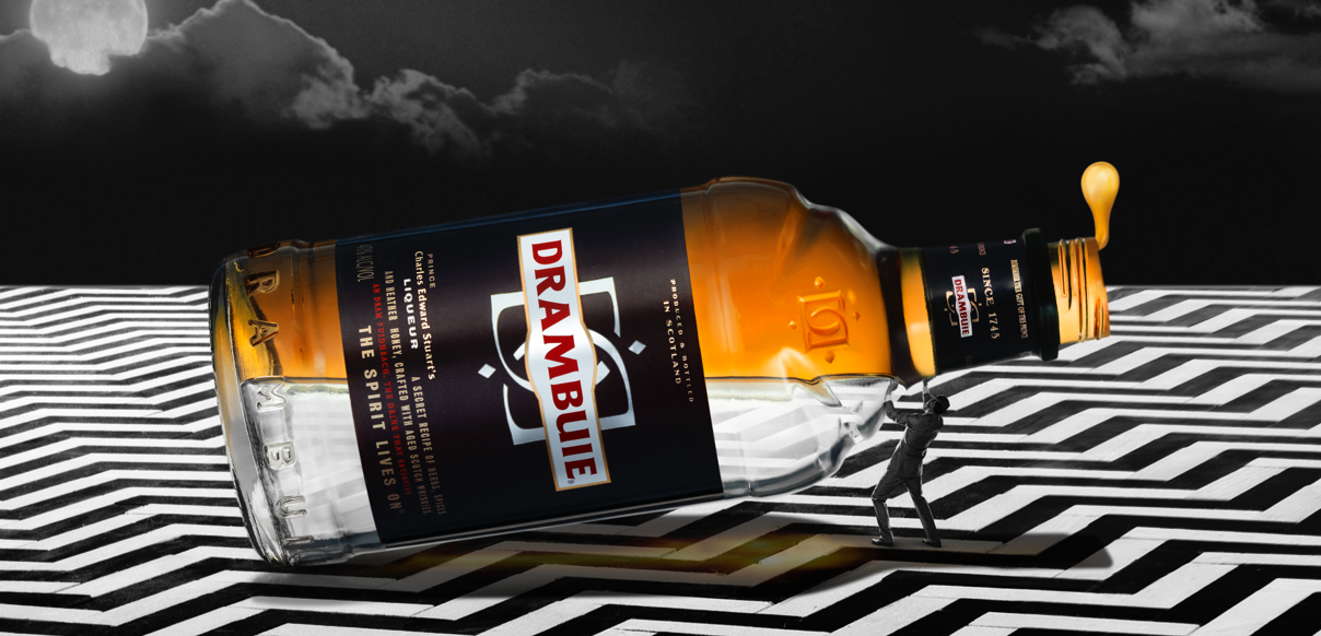 We created a cocktail of digital solutions for Drambuie
